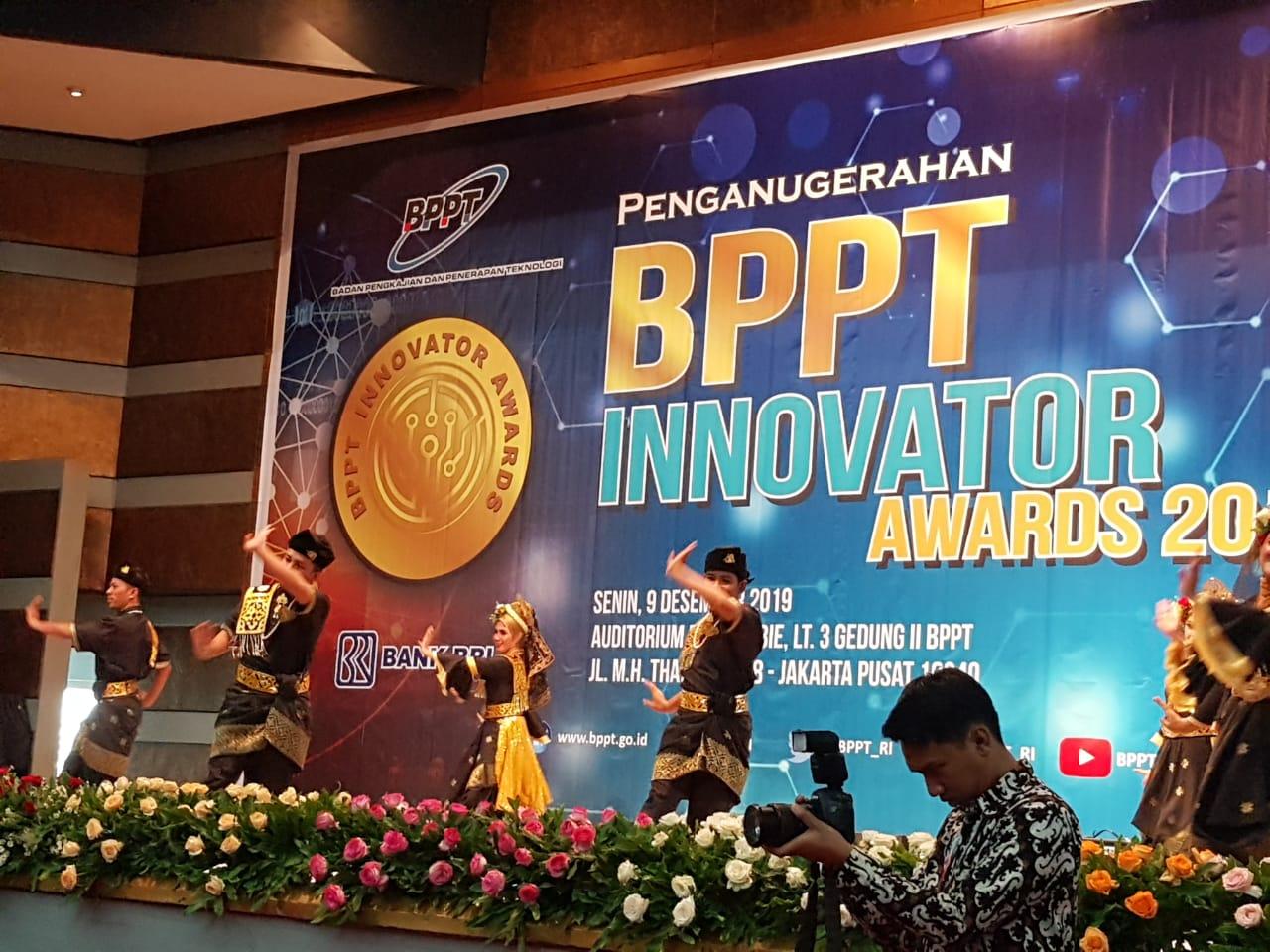 Tim Kesenian Kabupaten Bengkalis pada ajang Penganugerahan BPPT Awards 2019