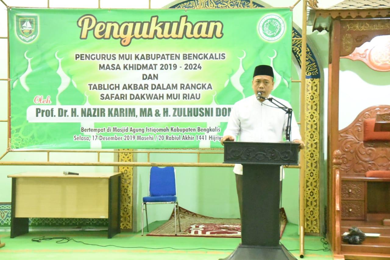 Ketua MUI Kabupaten Bengkalis Amrizal