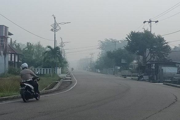 Jalan Pertanian Bengkalis, Senin, 23 September 2019
