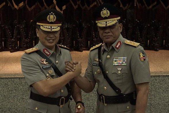 Salam Komando bersama Irjen Pol Widodo Eko Prihastopo (Int)