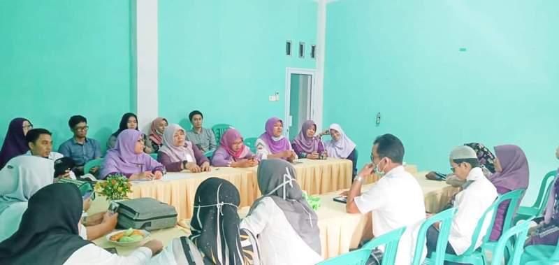Rapat internal Bidang Kesehatan MTQ ke-44