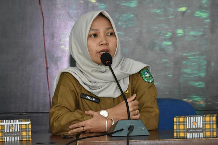 Kabid Tata Lingkungan DLH Bengkalis, Rafiani